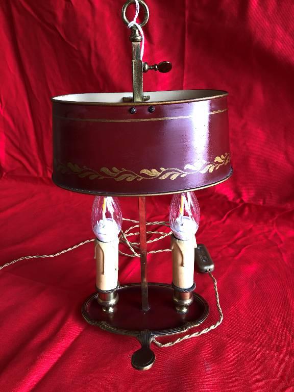 Lampe bouillotte 2 feux | Puces Privées