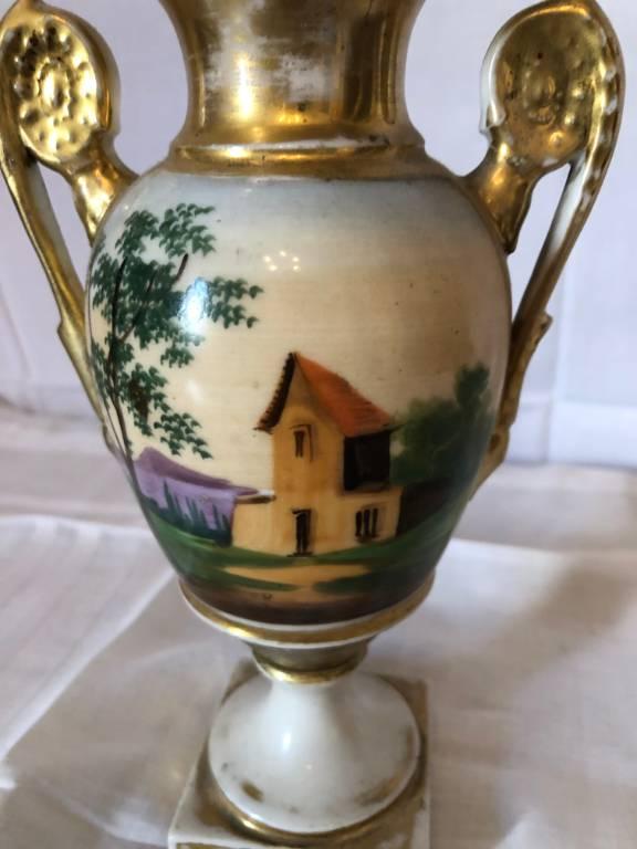 Vase porcelaine de Paris | Puces Privées