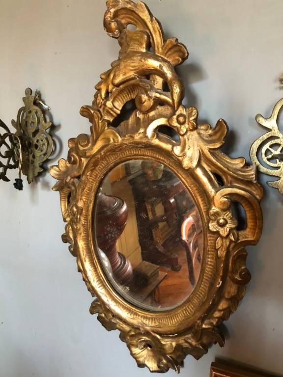 Miroir Style Louis XV | Puces Privées