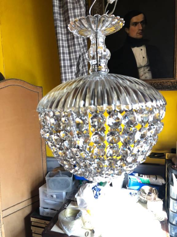 Lustre cristal | Puces Privées
