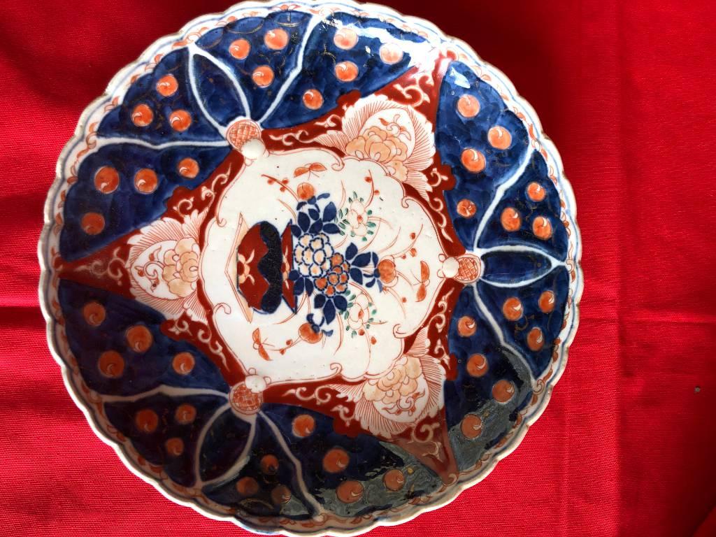 Assiette  Imari | Puces Privées