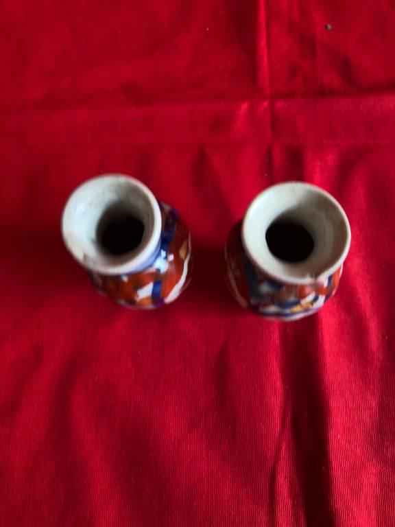 Paire de petits vases Imari   Puces Privées