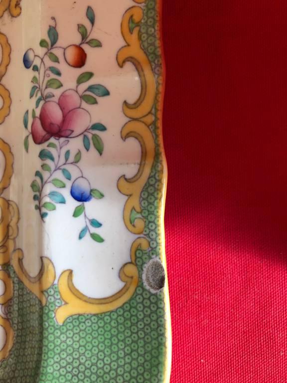 Plat en porcelaine Minton | Puces Privées