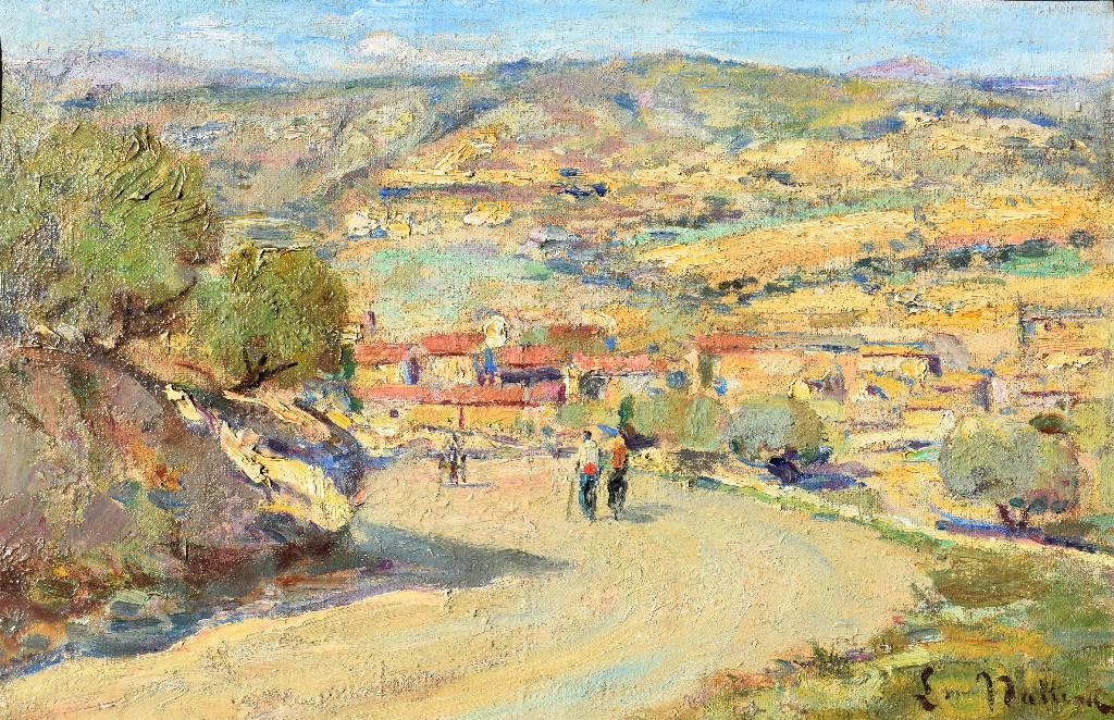 Louis NATTERO (1870-1915), Chemin de Provence, vers 1900 | Puces Privées