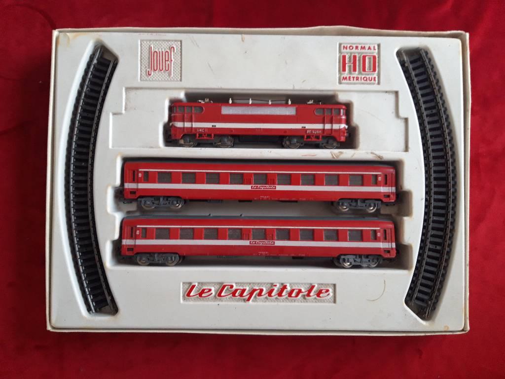 coffret de train vintage | Puces Privées