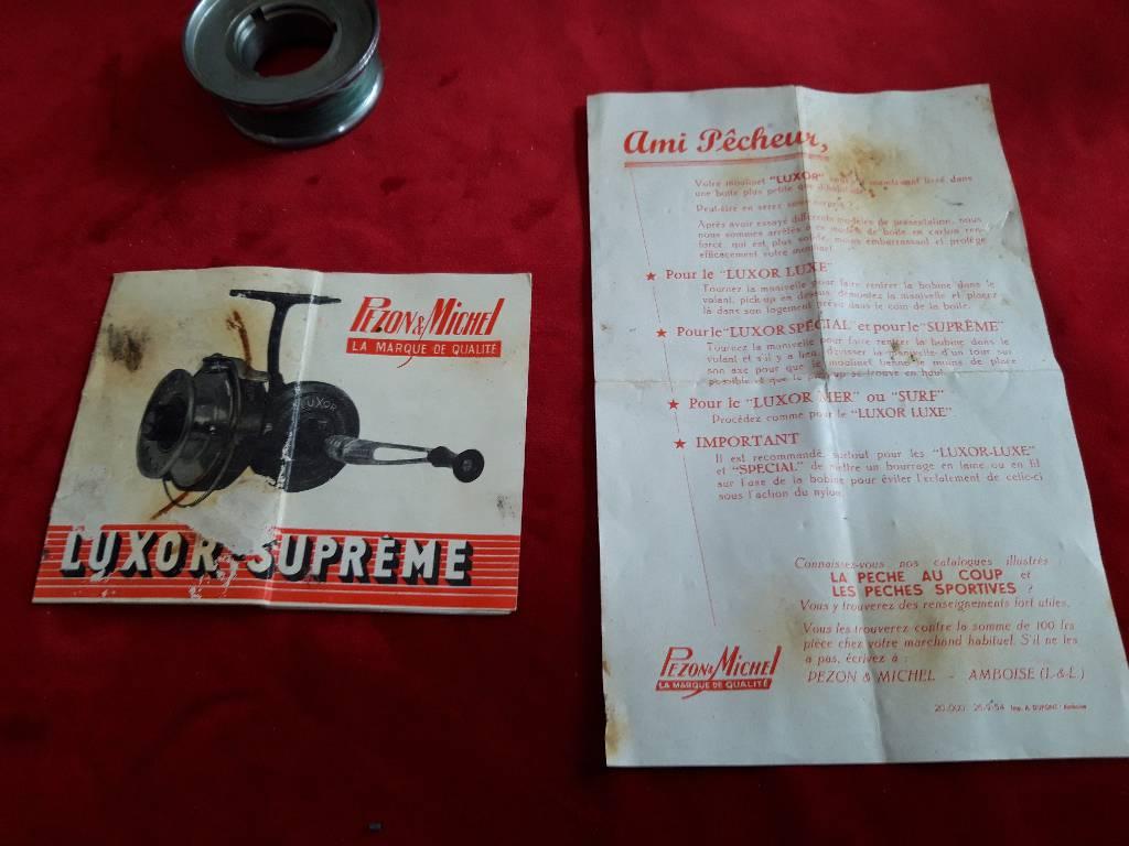 ancien moulinet LUXOR n°2  modèle SUPREME | Puces Privées