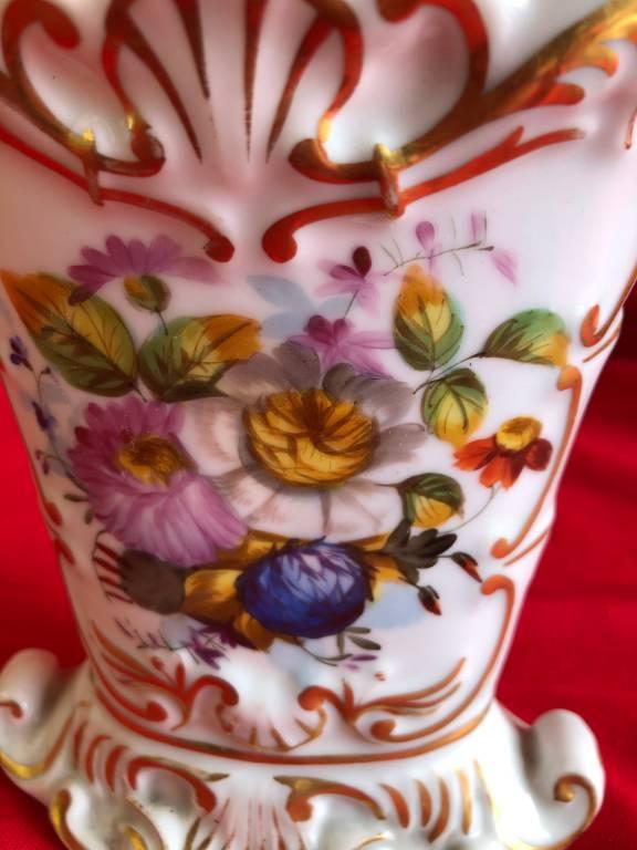 Vase d'église en vieux Paris | Puces Privées