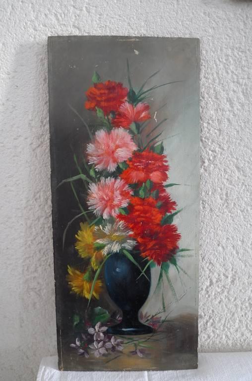 Tableau fleurs | Puces Privées