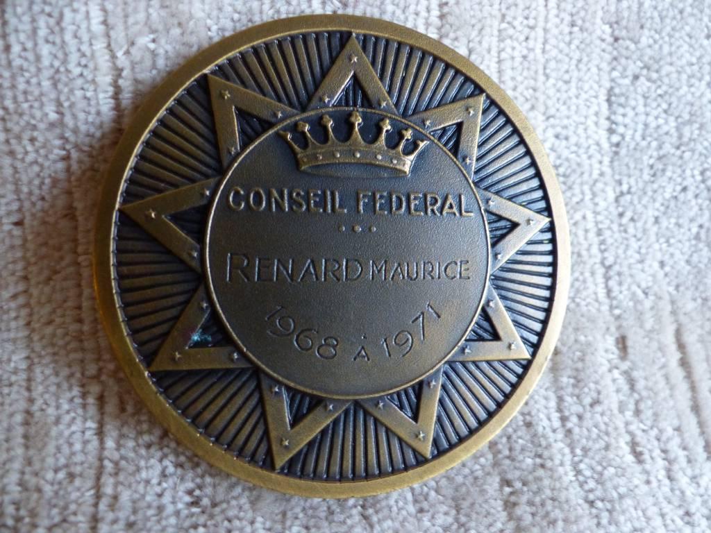 No - 406 - Médaille en bronze  GRANDE LOGE DE FRANCE | Puces Privées