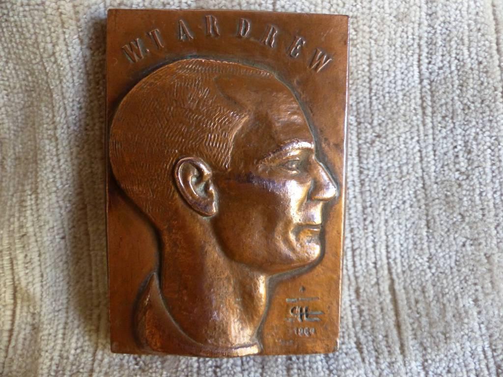 No - 410 - Médaille Walter W Tardrew et J Labrit   . Les Français libres de Juin 1940 à Juillet 1943   Puces Privées
