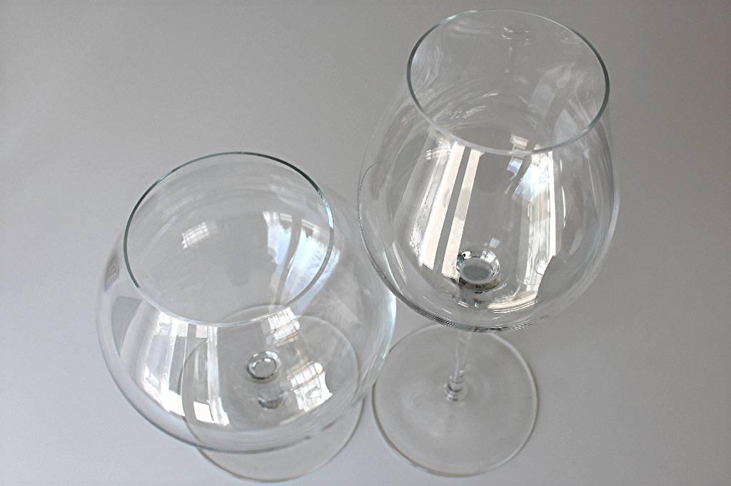 2 vases contemporains, en cristal de Bohème, années 60'   Puces Privées