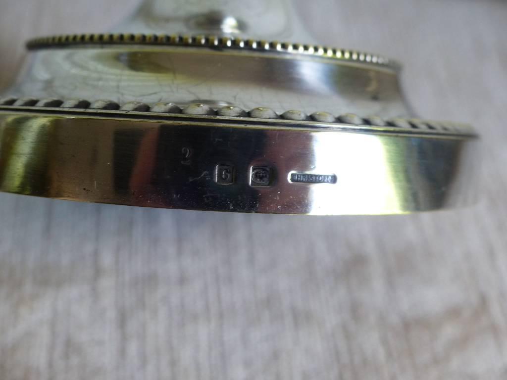 No - 417 - Paire de bougeoirs en métal argenté Christofle | Puces Privées