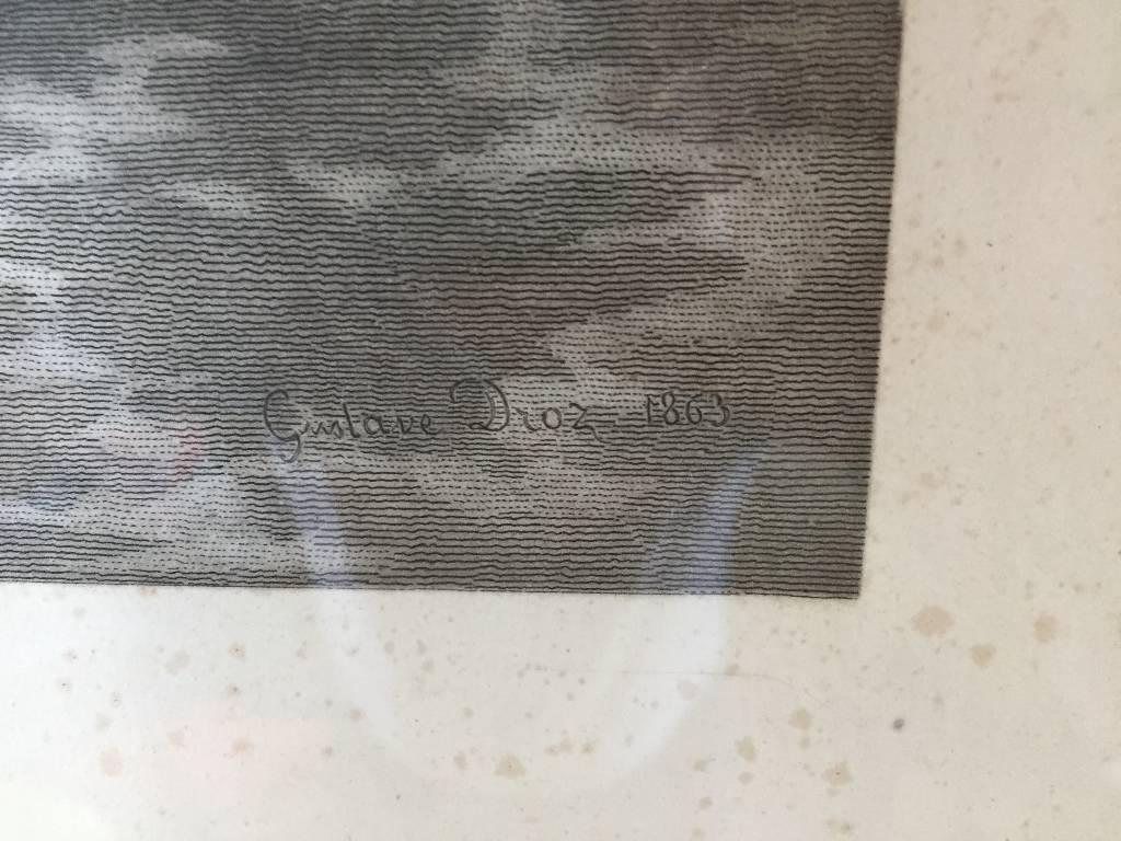 Gravure Gustave DROZ 1863 | Puces Privées