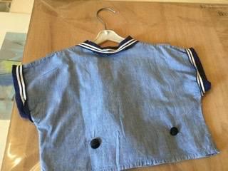 Costume marin enfant années 30 | Puces Privées