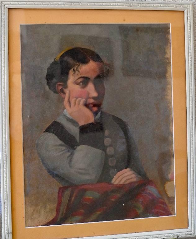 Portrait féminin | Puces Privées