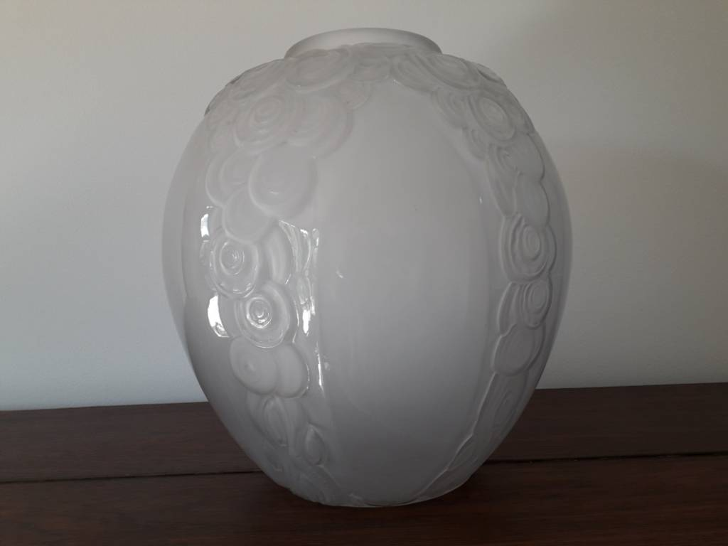 Grand vase art deco André Hunebelle | Puces Privées