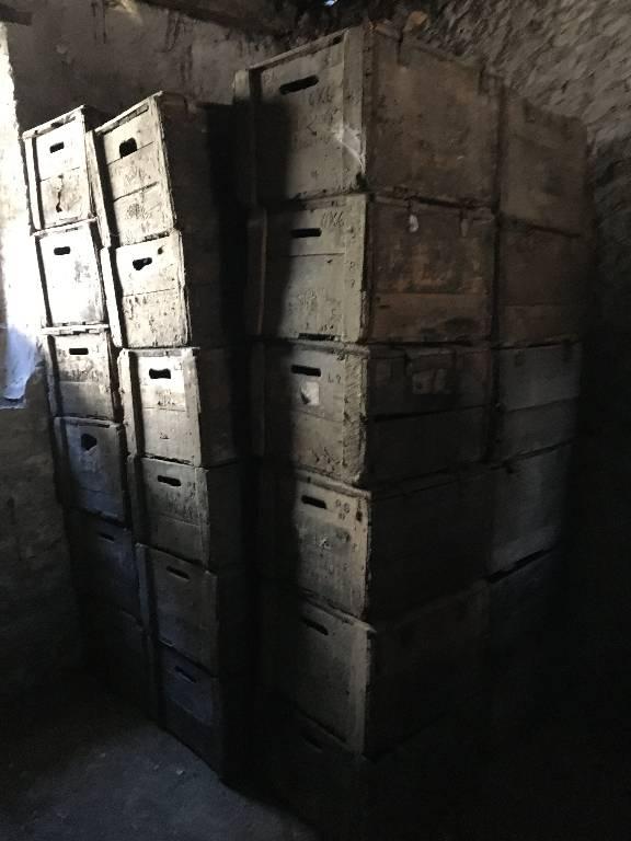 ancienne caisse bois de transport de vin | Puces Privées