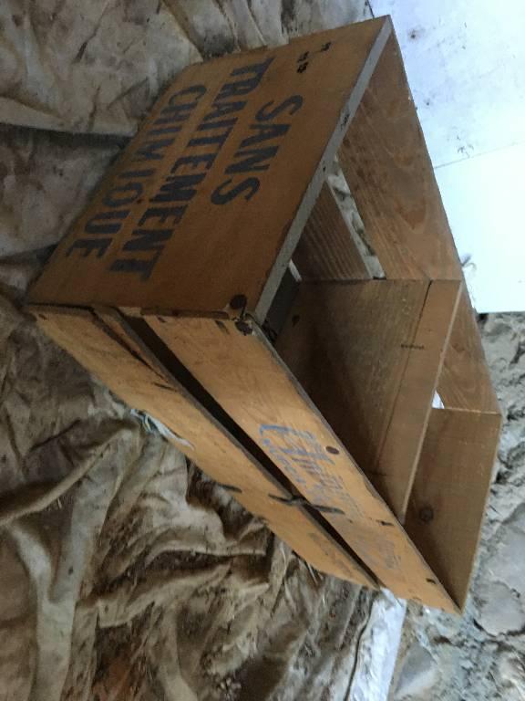 Caisse bois | Puces Privées