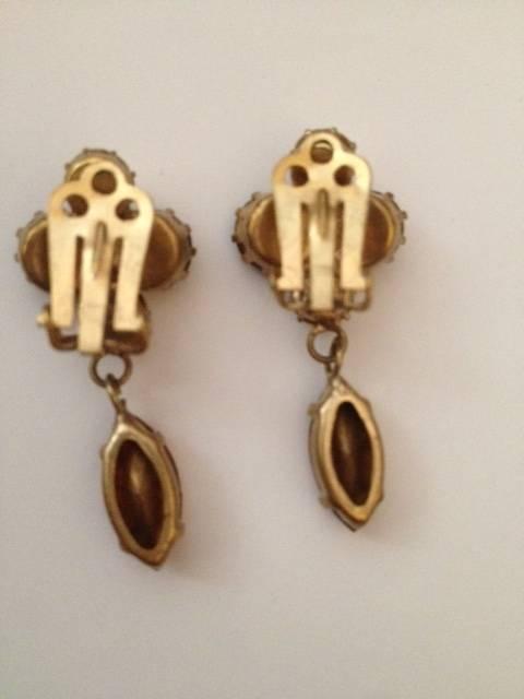Vintage boucles d'oreilles (clips) | Puces Privées