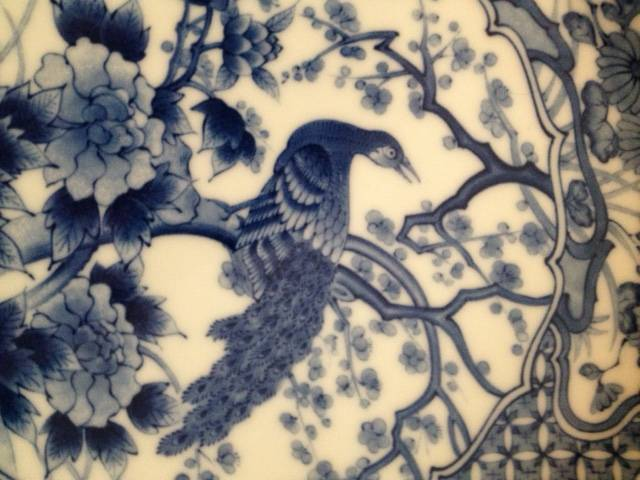 2x assiettes antiques chinoises   Puces Privées