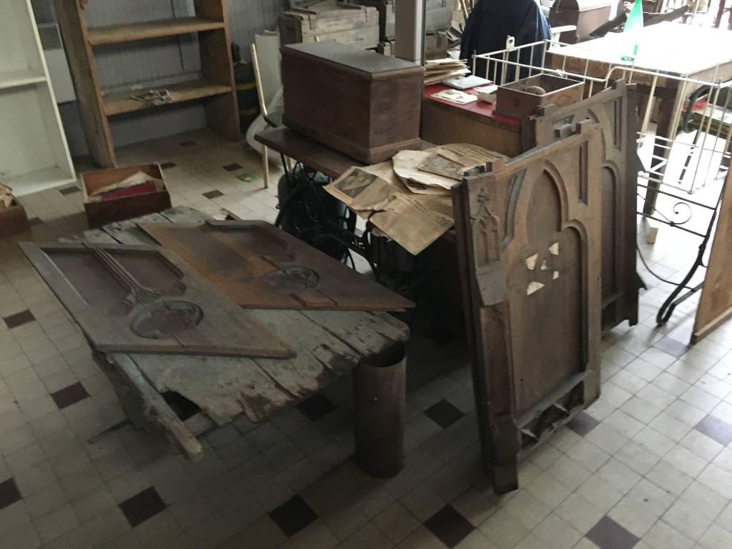 boiseries d'église   Puces Privées