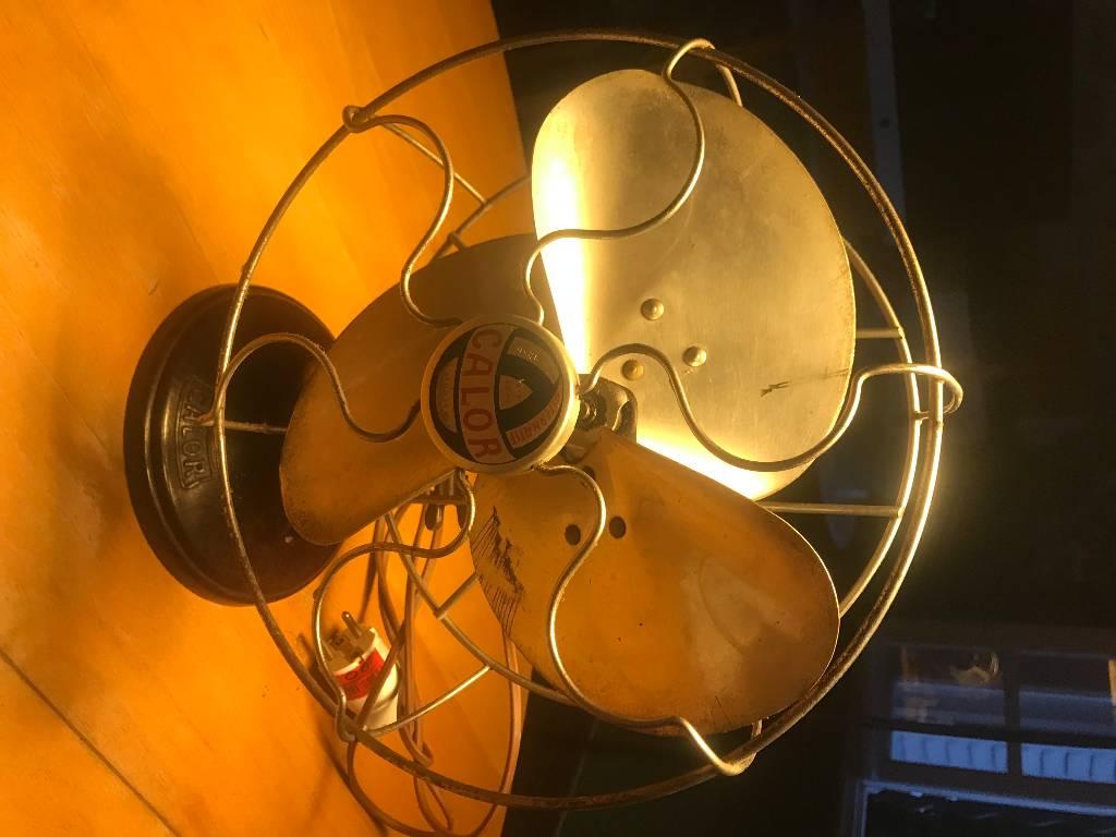 Ventilateur CALOR - année 50 | Puces Privées