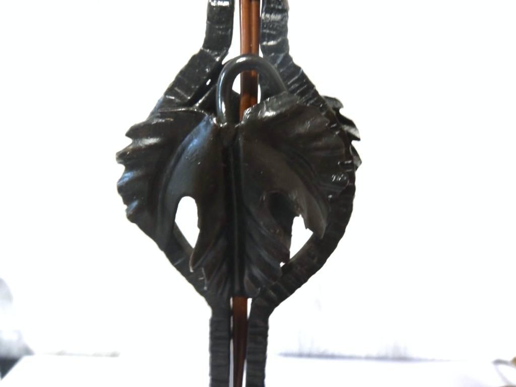 lampe fer forge art deco | Puces Privées