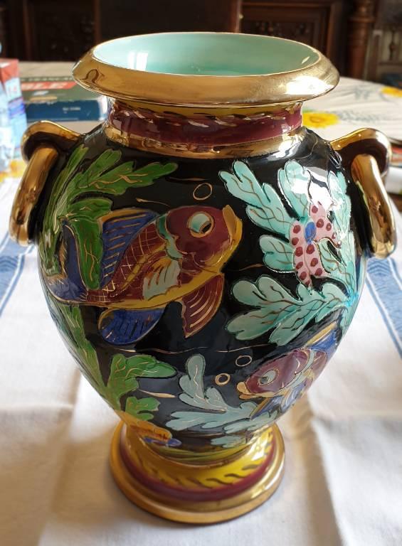 #18 - Vase céramique Cerdazur Monaco   Puces Privées