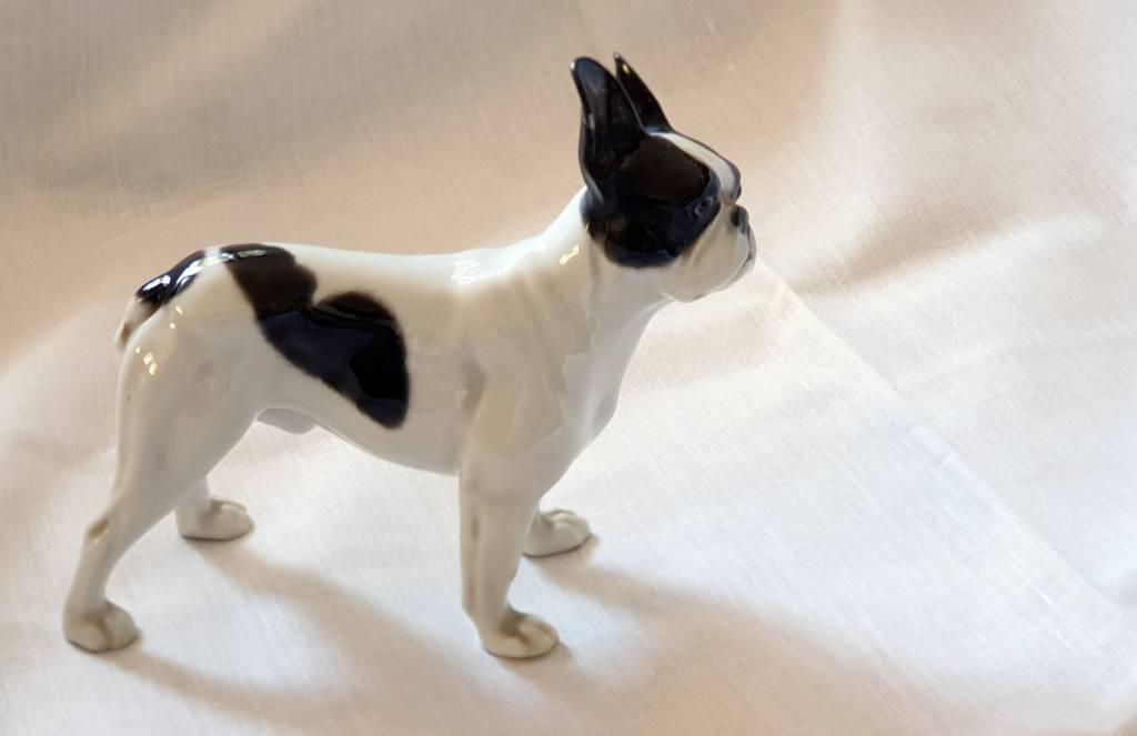 #39 - Bulldog en faience | Puces Privées