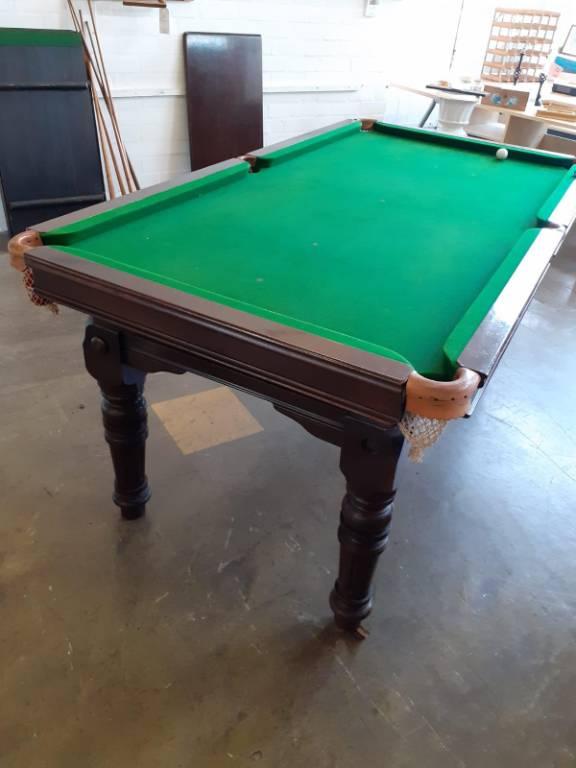 Table billard snooker anglais | Puces Privées
