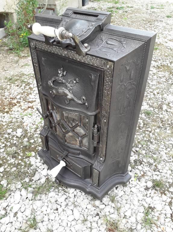 poêle la salamandre E Chaboche 1913   Puces Privées