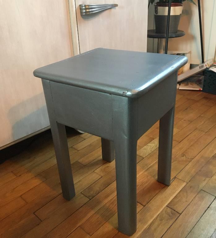 Tabouret coffre d'atelier | Puces Privées