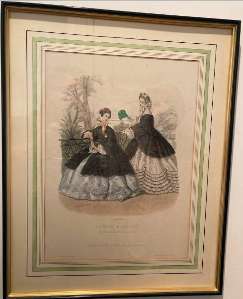 3 gravures la mode illustrée 1862 | Puces Privées