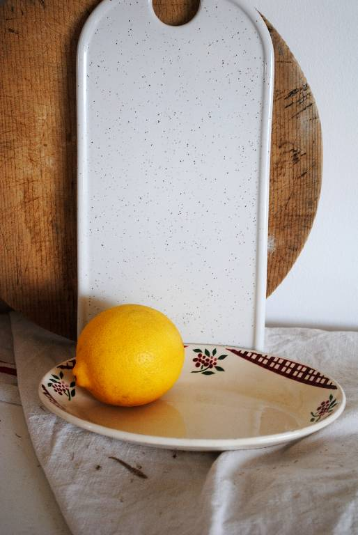 petit plat oval Sarreguemines | Puces Privées