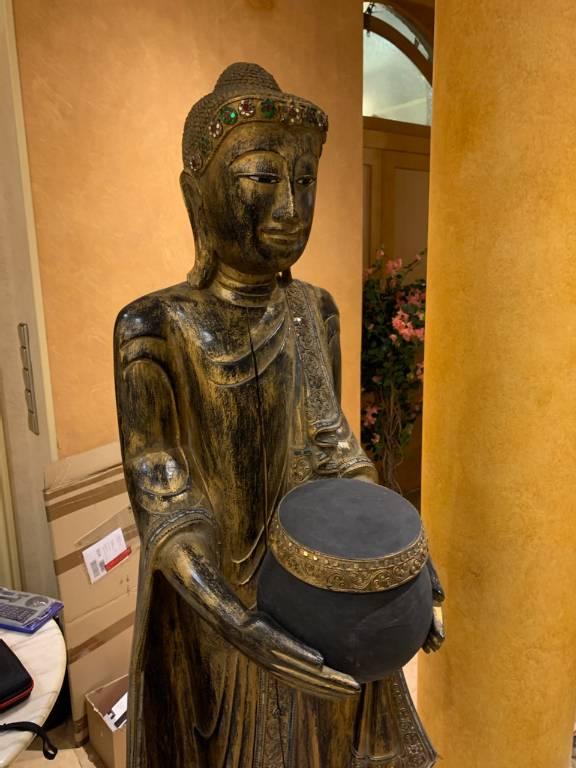 Statue birmane | Puces Privées