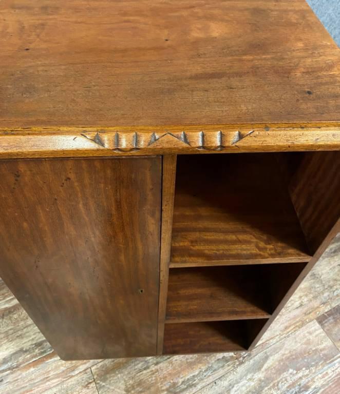 Majorelle  rare bibliothéque de salon époque Art Nouveau en acajou estampillée au fer | Puces Privées
