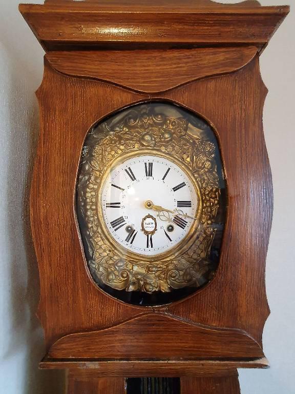 Horloge comtoise de parquet époque Napoléon III | Puces Privées