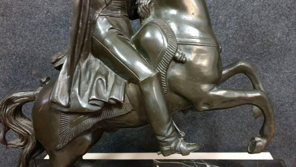 D'après Antonio Canova   Très importante sculpture en bronze patiné, | Puces Privées