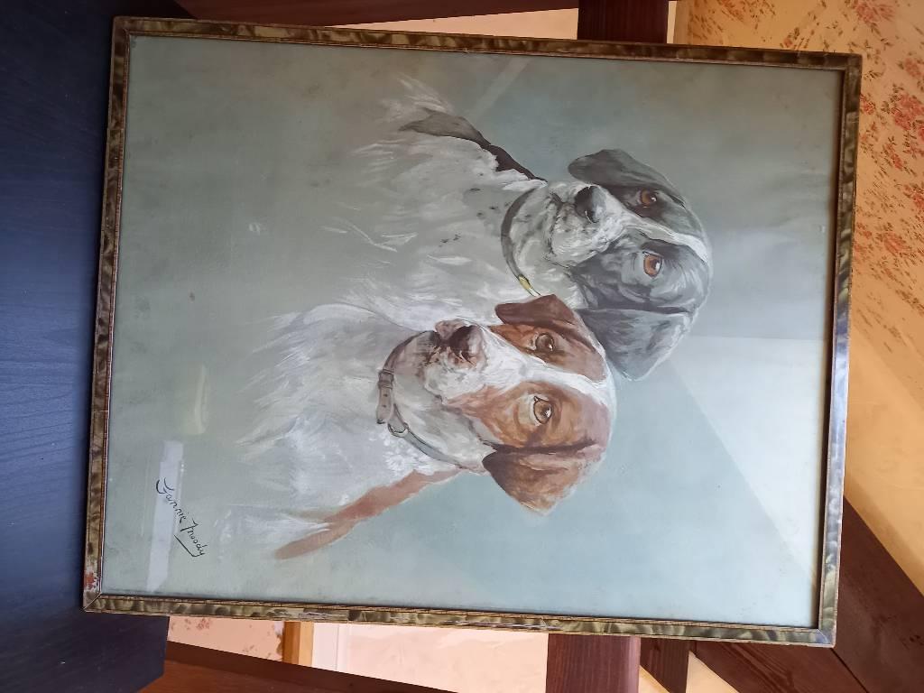 Deux chiens par Fanny Moody   Puces Privées