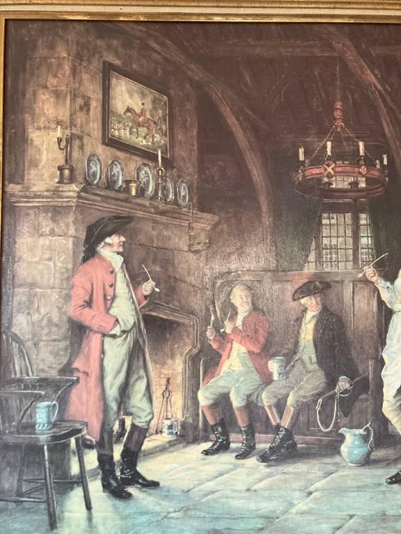 tableau reproduction  d'un tableau de FM Bennett | Puces Privées