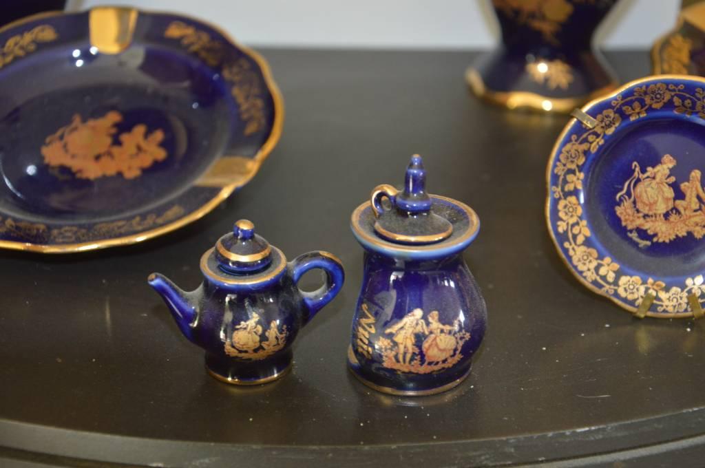 Porcelaine de Limoges Castel | Puces Privées