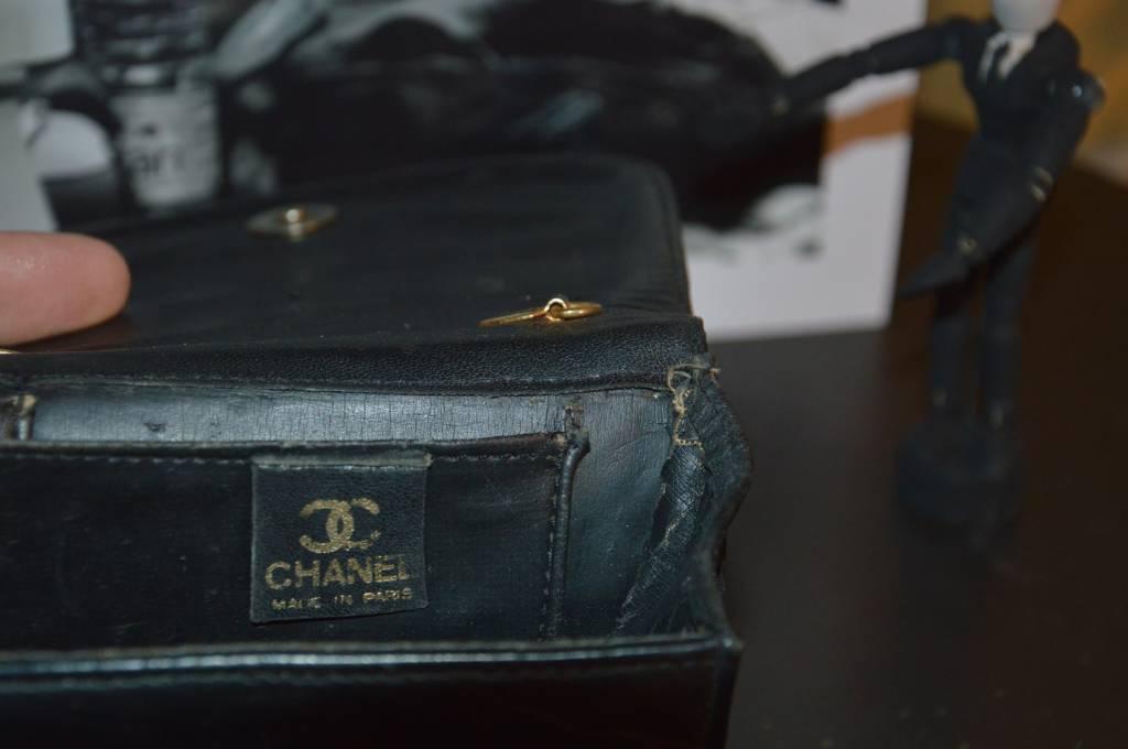 porte monnaie vintage chanel | Puces Privées