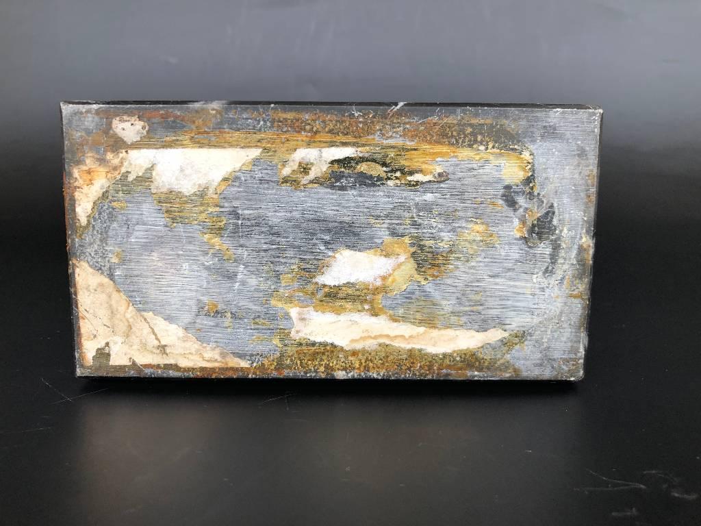 SCULPTURE BRONZE STYLE ART DECO TROPHEE PETANQUE BOULISTE | Puces Privées