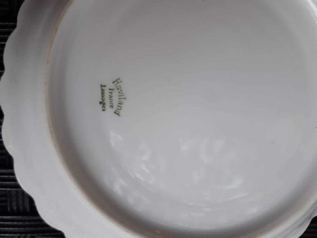 Service à thé porcelaine de Limoges | Puces Privées
