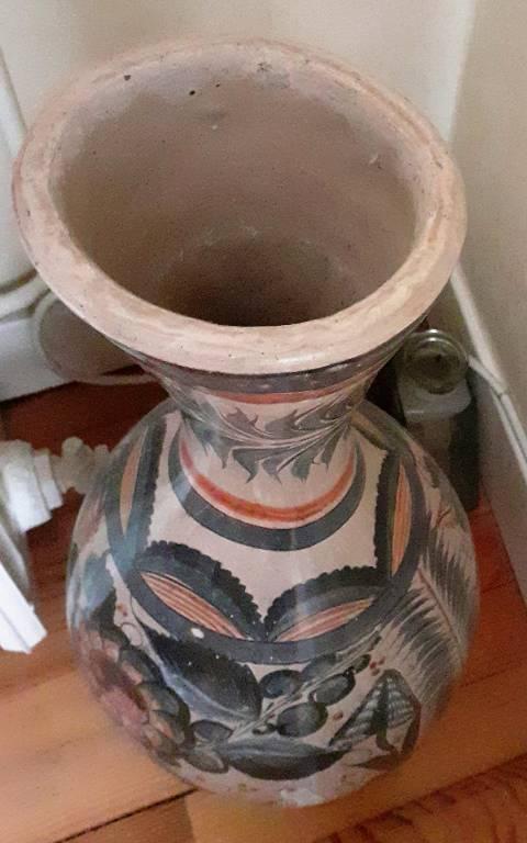 Vase en terre cuite. | Puces Privées