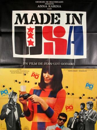 affiche cinéma Made in USA, Affiches anciennes (cinéma, theâtre, publicitaire), Image   Puces Privées