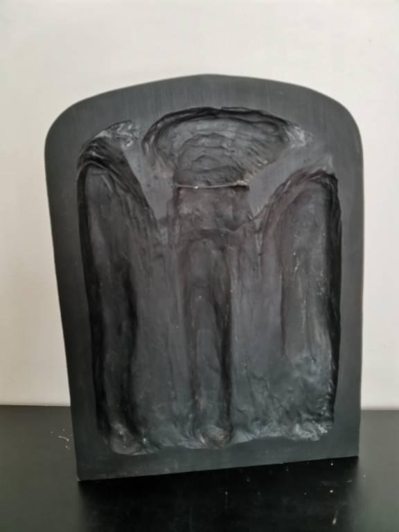 Reproduction d'un bas-relief égyptien   Puces Privées