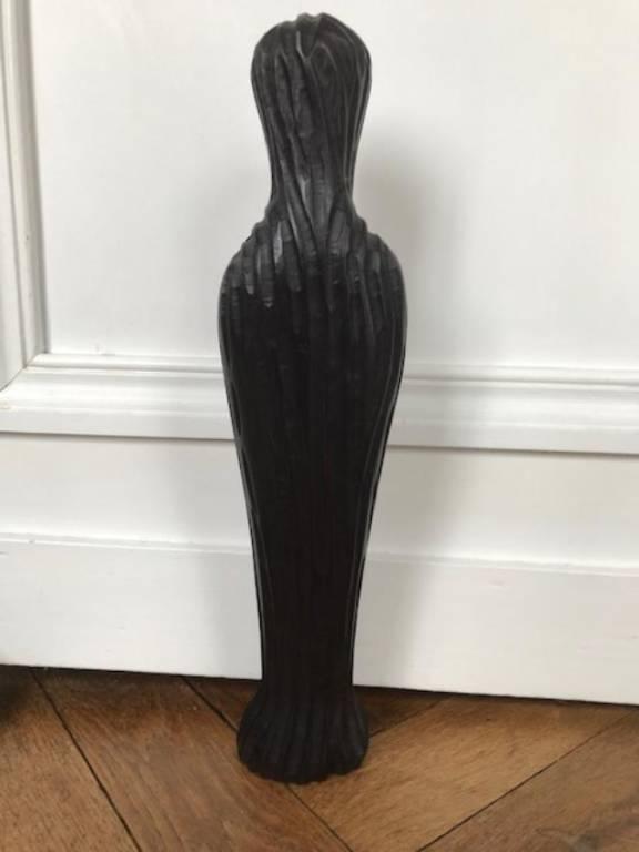 Vierge noire en ébène   Puces Privées