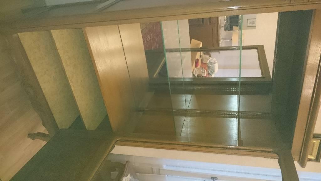 Argentier Vaisselier Vitrine salle à manger ancienne | Puces Privées
