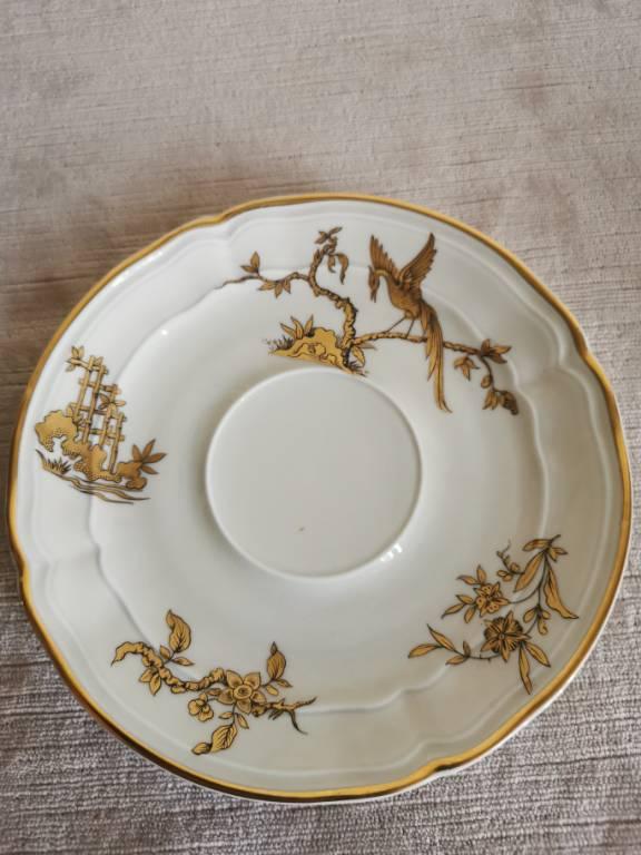 No - 482 - Tasse déjeuner en porcelaine  Bernardaud Limoges France   Puces Privées
